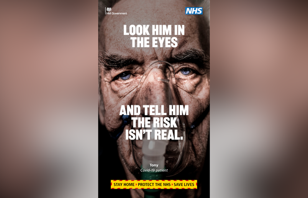 Hard Hitting Government Campaign Urges the UK to Stay at Home