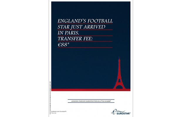 Eurostar Capitalises on Beckham Transfer