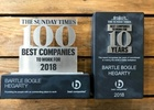 BBH London Named in The Sunday Times Best Companies to Work for List for 10th Year in a Row