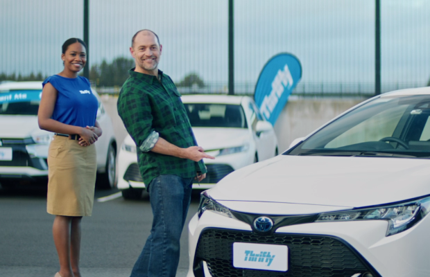 Thrifty Finds the Perfect Vehicle with a Smile in Latest 'Decisions' Ad