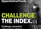 OppenheimerFunds 'Challenge The Index' in New Brand Campaign