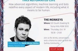 The Monkeys and the Webby Awards Host 'This Automated Life'