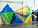 Scotch Painter's Tapes Creates Inspirational Mural to Inspire New Generations of Young Artists