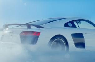 Let It Snow: Audi Launches Festive R8 Campaign