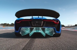 Blue Skies Ahead For Not To Scale And The World's Fastest Electric Car