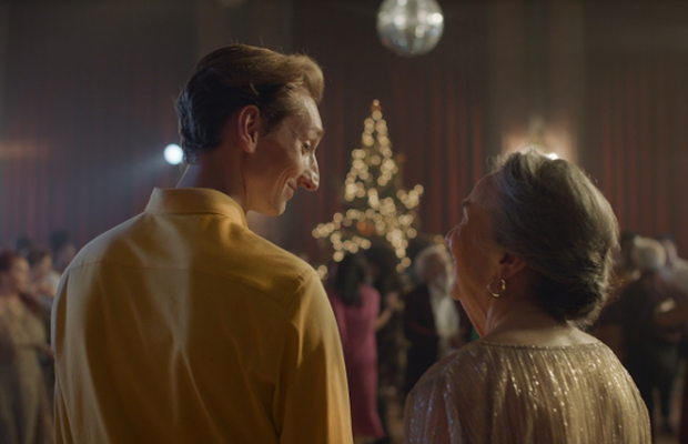 Grandma Shall Go to the Ball in Zalando's Generation-Bridging Christmas Ad