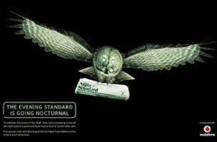 London's Nocturnal Wildlife Stars in new WCRS Campaign to Promote The Late Night Standard