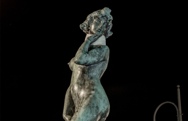 Finland's Most Battered Statue Becomes a Symbol for Violence Against Women