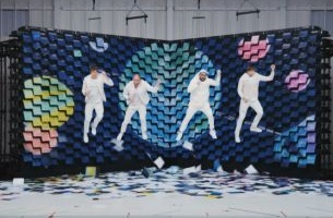 This New OK Go Video is So Sharp You'll Get a Paper Cut