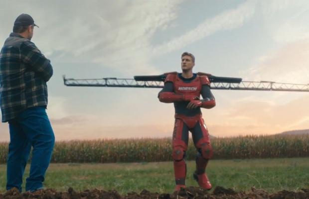 Iron Man Is Re-Imagined as a Farmer in Superhero Spot for Horsch Machinery