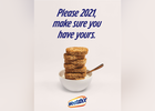 Weetabix Cereal's Iconic Slogan Asks a Favour of 2021