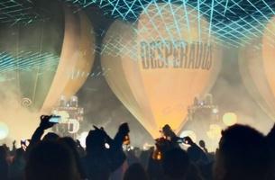 Desperados Creates World's First Hot Air Balloon Electronic Light Orchestra