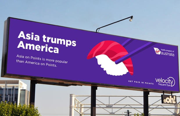 Velocity Frequent Flyer OOH Ads Finds Striking Parallels Between the Habits of Their Members and World Current Affairs