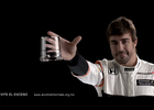 Johnny Walker - Fernando Alonso - The Glass car