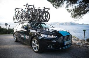 Ford Hits the Road with Team Sky Partnership