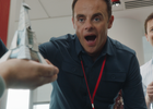 Ant and Dec Make Origami Out of Bills in Latest Bank of Antanddec Spot for Santander