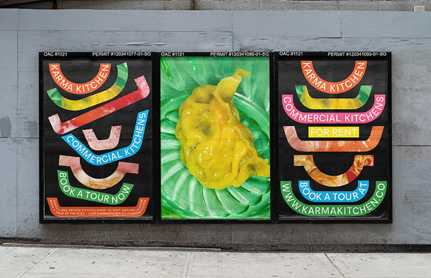 Droga5 London Launches Colorful Identity for Karma Kitchen