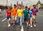 Spanish LGBTQ+ Activists Use Football Shirts to Fight Russia's Homophobic Laws