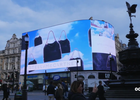 Stella McCartney on Piccadilly Lights