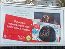 Lidl Cheekily Trolls Its Competitors' Billboards for Christmas