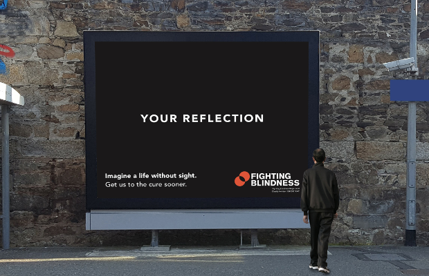 Powerful Billboards Use Life Moments to Help Find a Cure for Blindness