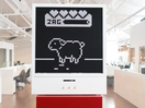Virtual Pet That Needs Feeding, Entertaining and Cleaning up after Welcomes BBH Singapore Staff Back to the Office