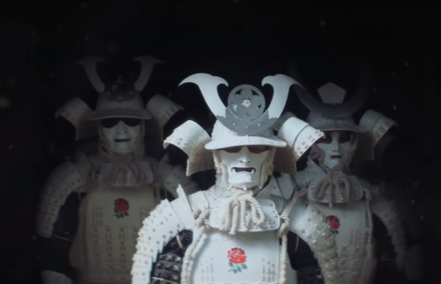England's Rugby Stars Don Samurai Armour in Cinematic O2 Film