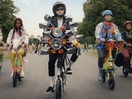 Electric Bike Gang Go 'Extra' in In the Company of Huskies' Apache Pizza Campaign