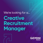 Creative Recruitment Manager