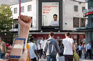 NHS Blood and Transplant Campaign Uses Ocean Technology to Get Blood Donations Flowing