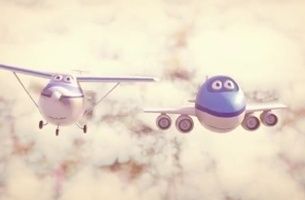 Follow the Adventures of Bluey the Plane in DDB & Tribal WW Amsterdam's KLM Film