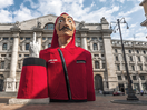 Netflix Gives a Body to Italy's Most Iconic Middle Finger with Money Heist Statue Stunt