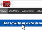 Do you do advertise on YouTube?