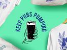 Buy a T-Shirt and Keep a London Pub Pumping