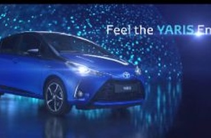 Papaya and Toyota Unveil the 2017 Yaris at Geneva Motor Show