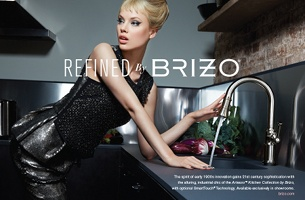 Vintage High-End Fashion Features in New Brizo Brand Campaign