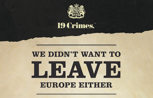 19 Crimes Comments 'We Didn't Want to Leave Europe Either' in Wake of UK General Election Vote and Brexit Debate