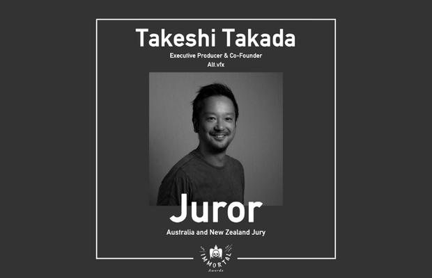 Alt.vfx's Takeshi Takada Joins The Immortal Awards Jury