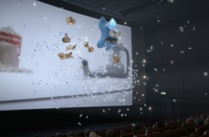Your Shot: AMV BBDO Shock Cinemagoers with 'Out of Control' Gaz and Leccy