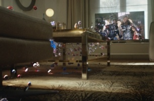 Gorgeous New Sky Q Spot Is a Droplet-filled Visual Spectacle