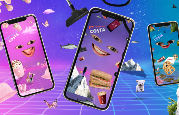 Costa Coffee Takes to TikTok as First Brand to Use the 'For You Page' to Target Its Audience