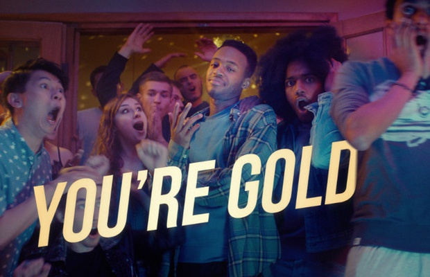 AXE Shows How Confidence Makes You 'Gold