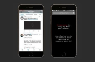 Grey New York's Anti-Gun Phone Glitch Campaign Aims to End Armed Violence