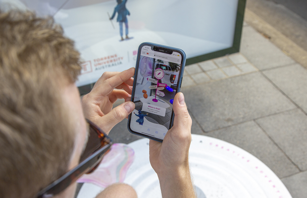 Billy Blue Uses AR to Help School Leavers Start Their Adventure into Design