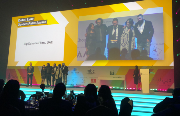 BIG KAHUNA FILMS wins Production House of the Year 2019 at Dubai Lynx Festival