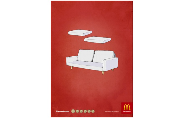 photo regarding Mcdonalds Printable Job Application known as DDB Stockholms Print Adverts for McDonalds LBBOnline