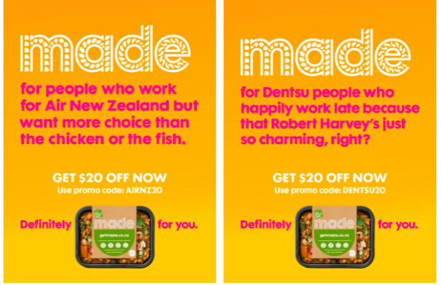 My Food Bag Launches Super Targeted MADE Range Outdoor Ads