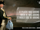 Famous Historical Figures Illustrate Staggering Plastic Pollution Crisis