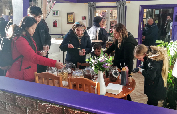 Cadbury Customises Hot Chocolate with Make it Yours Campaign