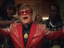 Elton John Enters Rap Scene in New Snickers Ad
